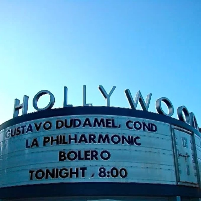Gustavo Dudamel en el Hollywood Bowl