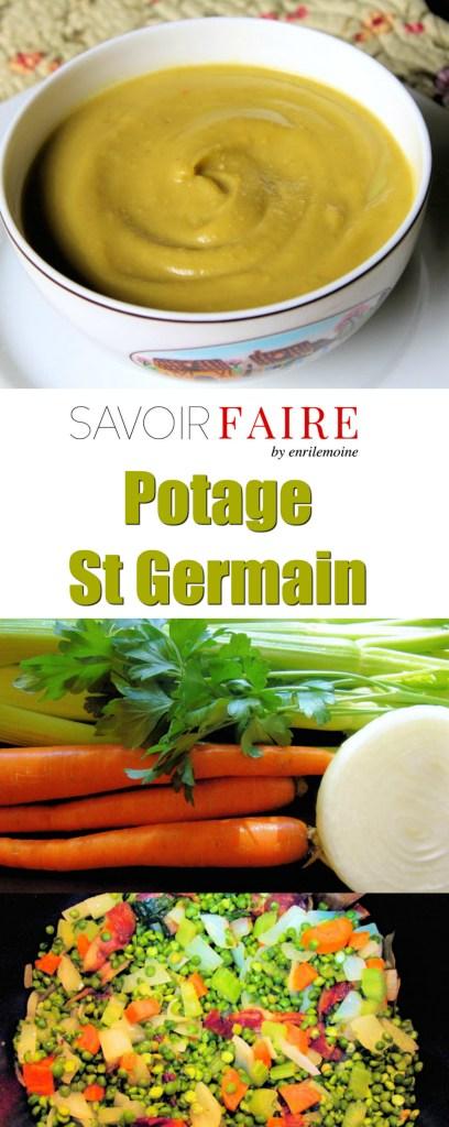 Potage St Germain - Pinterest - SAVOIR FAIRE by enrilemoine