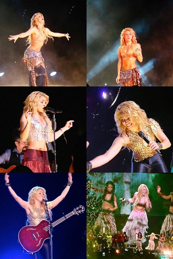 Shakira in L.A.