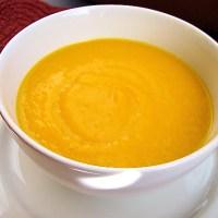 Crema de auyama {sopa de calabaza}