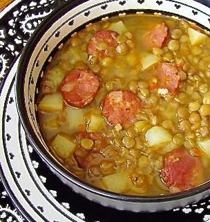 Lentil Soup with Spanish Chorizo {Video}
