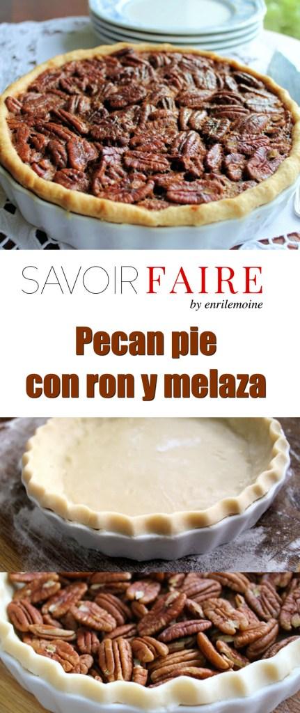 Pecan pie con ron y melaza - SAVOIR FAIRE by enrilemoine
