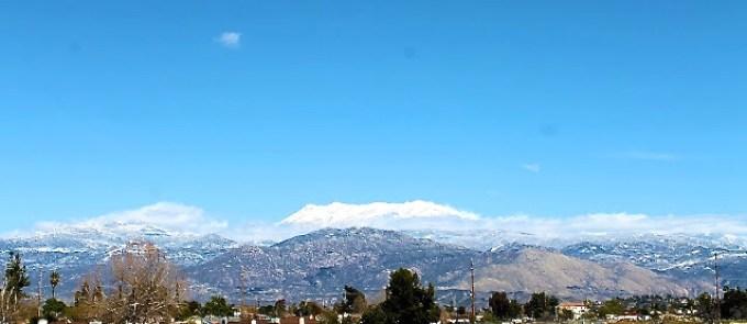 San Jacinto Mountains, spring