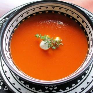 Roasted Tomato Soup - SAVOIR FAIRE by enrilemoine