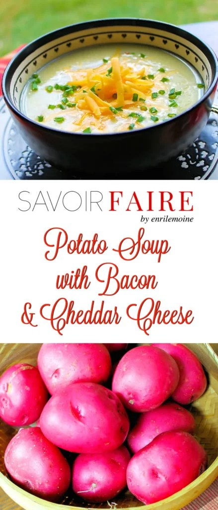 Potato Soup with Bacon - SAVOIR FAIRE by enrilemoine