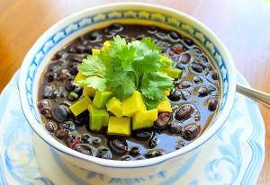 Black Bean Soup - SAVOIR FAIRE by enrilemoine