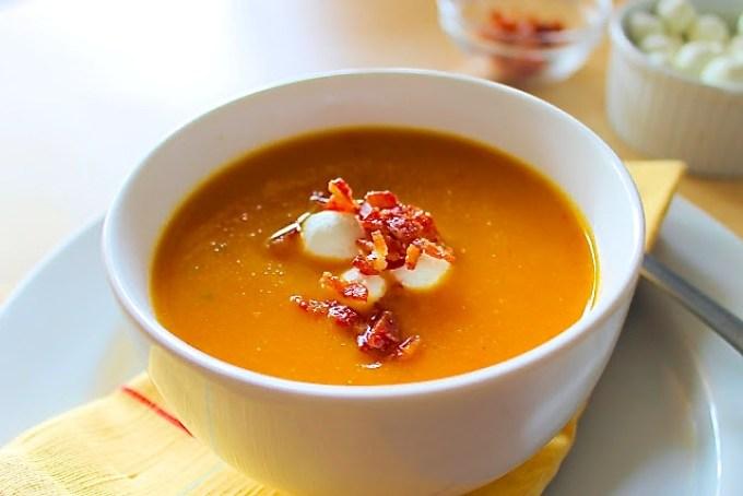roasted veggies soup