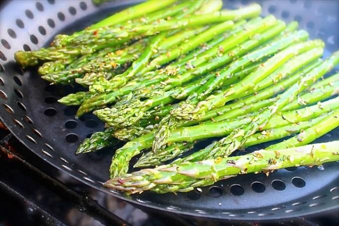 Grilled Asparagus with Truffle Oil - SAVOIR FAIRE by enrilemoine