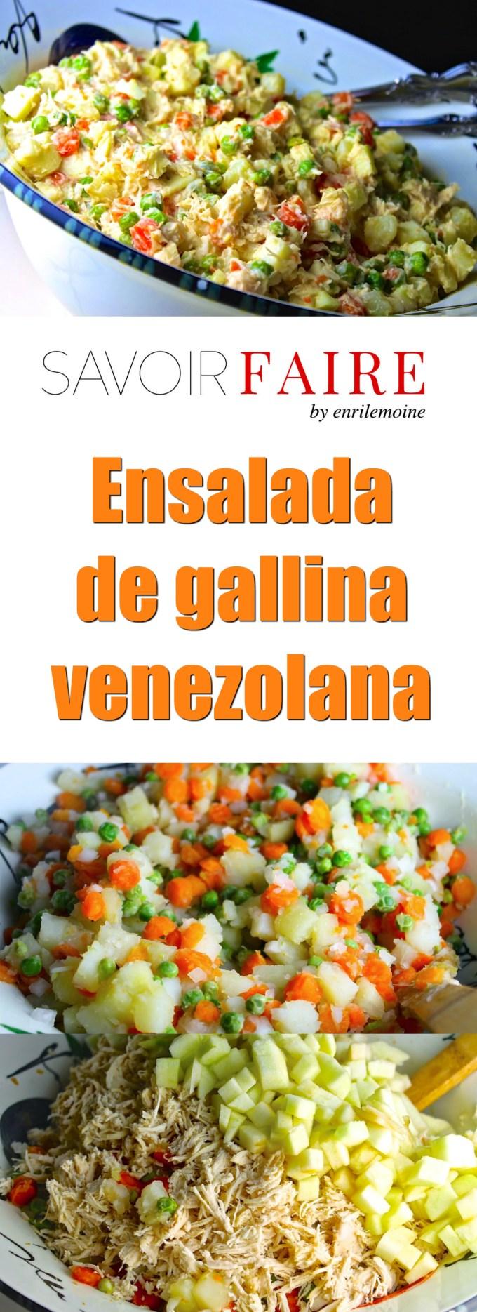 Ensalada de gallina - SAVOIR FAIRE by enrilemoine