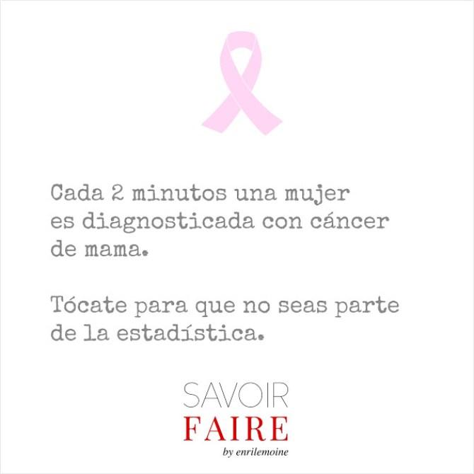 Octubre rosa - cáncer de mama - SAVOIR FAIRE by enrilemoine