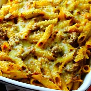 Gluten-Free Pasta Casserole alla Bolognese