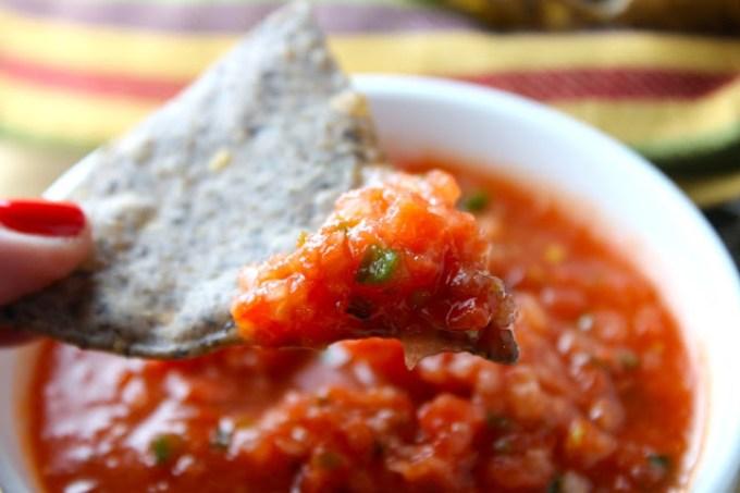 Salsa de tomates crudos, salsa de tomate, salsa