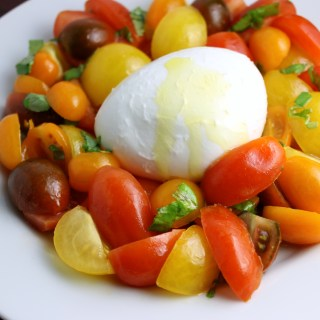 Multicolor Caprese Salad