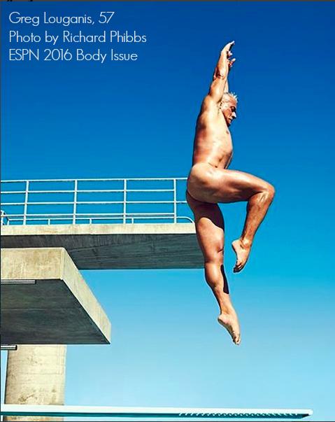 Greg Louganis Photo by Richard Phibbis for ESPN Body Issue 2016 - SAVOIR FAIRE by enrilemoine