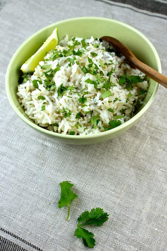 Arroz con cilantro y limón - SAVOIR FAIRE by enrilemoine