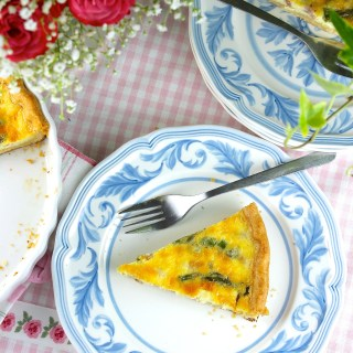 Ham and asparagus quiche - SAVOIR FAIRE by enrilemoine