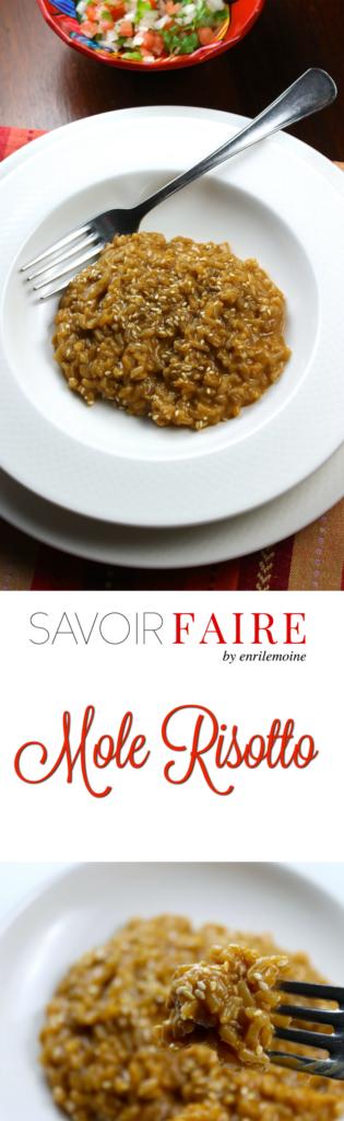 Creamy Mole Risotto - SAVOIR FAIRE by enrilemoine