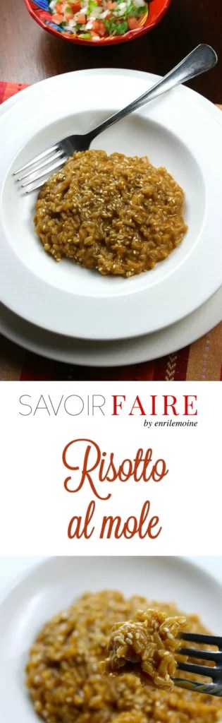 Cremoso risotto al mole - SAVOIR FAIRE by enrilemoine