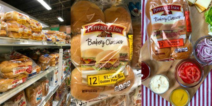 Sliders to make cheeseburger sliders