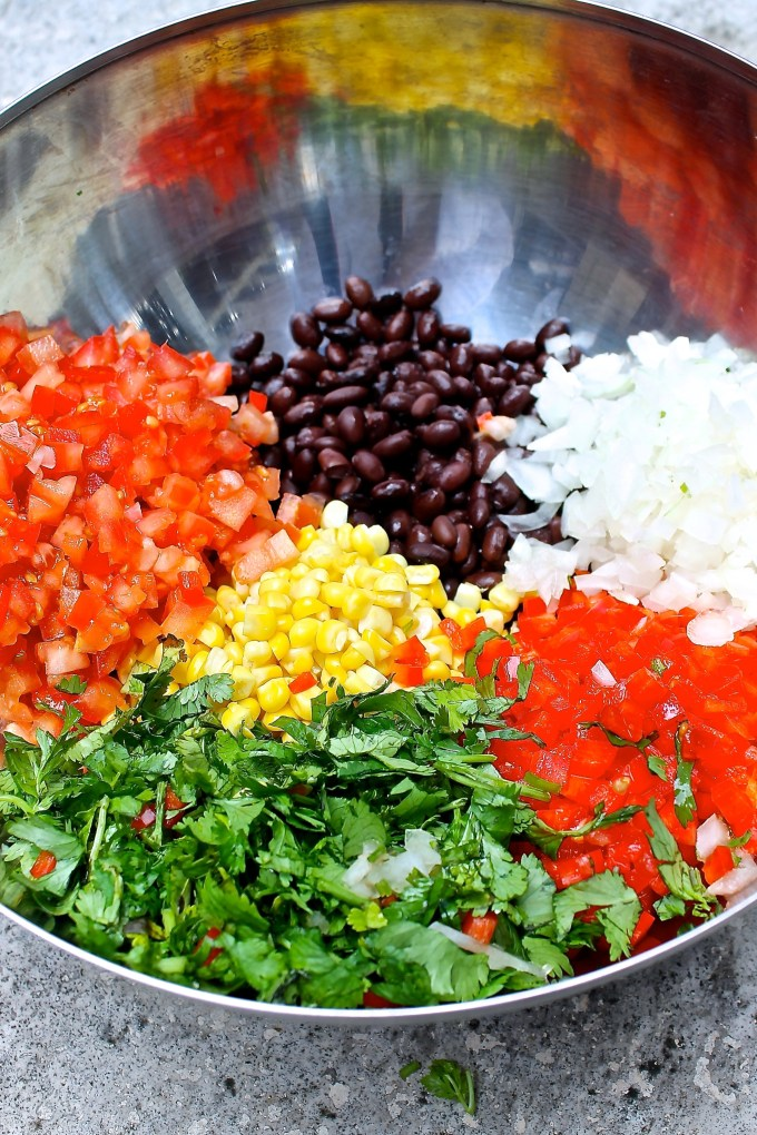 ingredients for Texas caviar