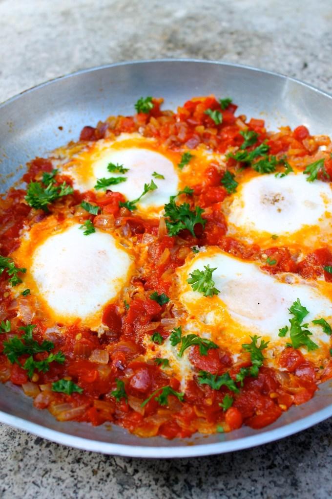 huevos con sofrito