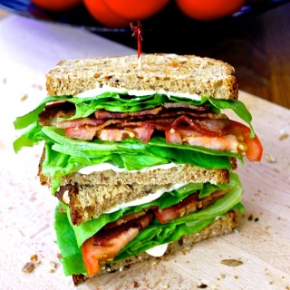 Sándwich BLT: irresistible