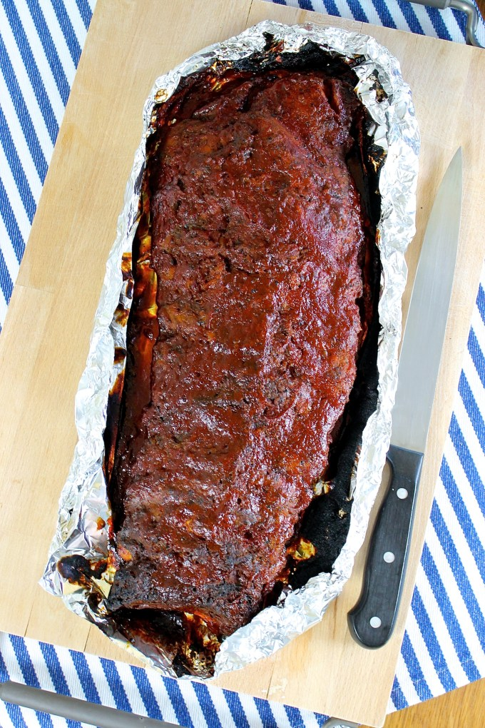 Apple Butter BBQ Baby Back Ribs