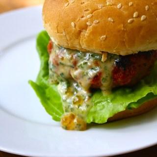 Grilled Pork Loin Burgers + VIDEO