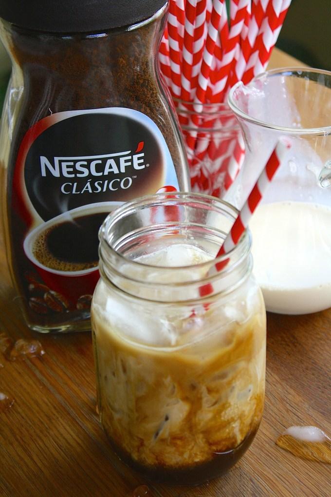 cómo hacer iced coffee en casa
