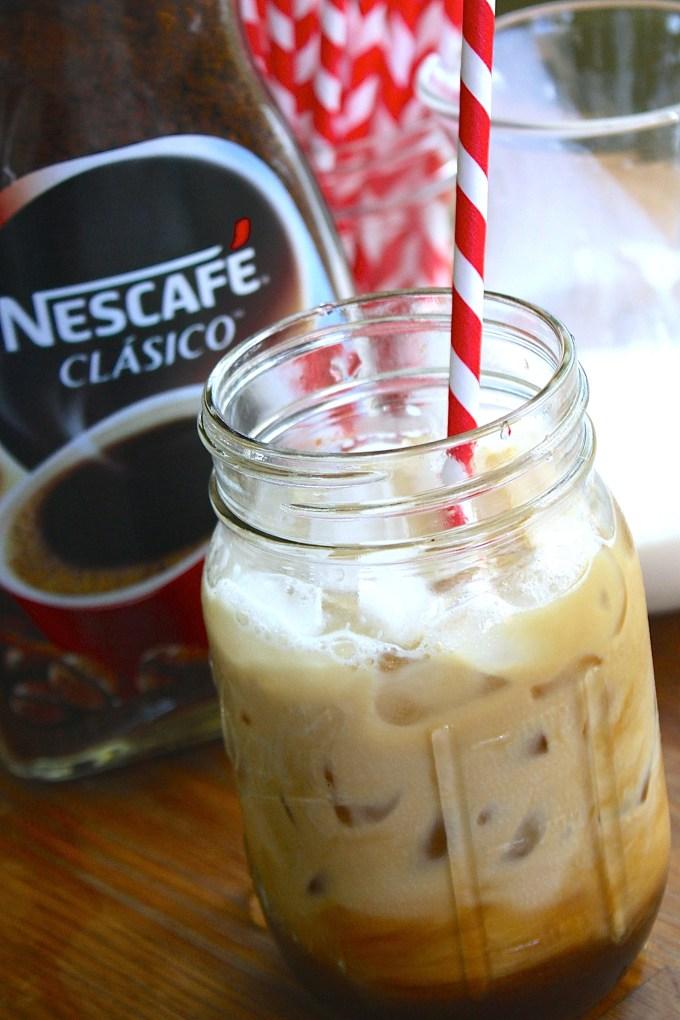 cómo hacer café frío, café con hielo
