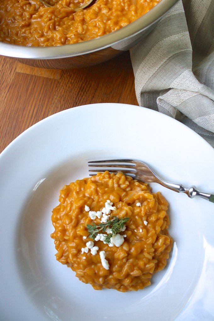 Pumpkin Risotto with Goat Cheese - SAVOIR FAIRE by enrilemoine
