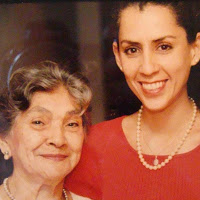 Grandma Ligia and my sister Andreina
