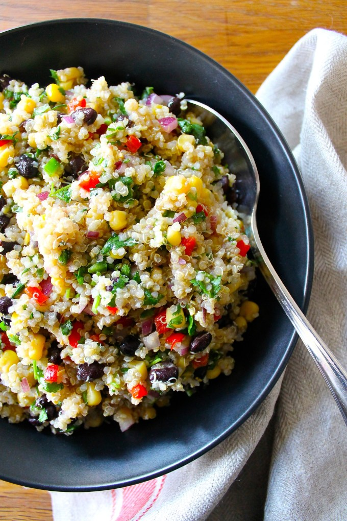 Zesty Latin Quinoa Salad