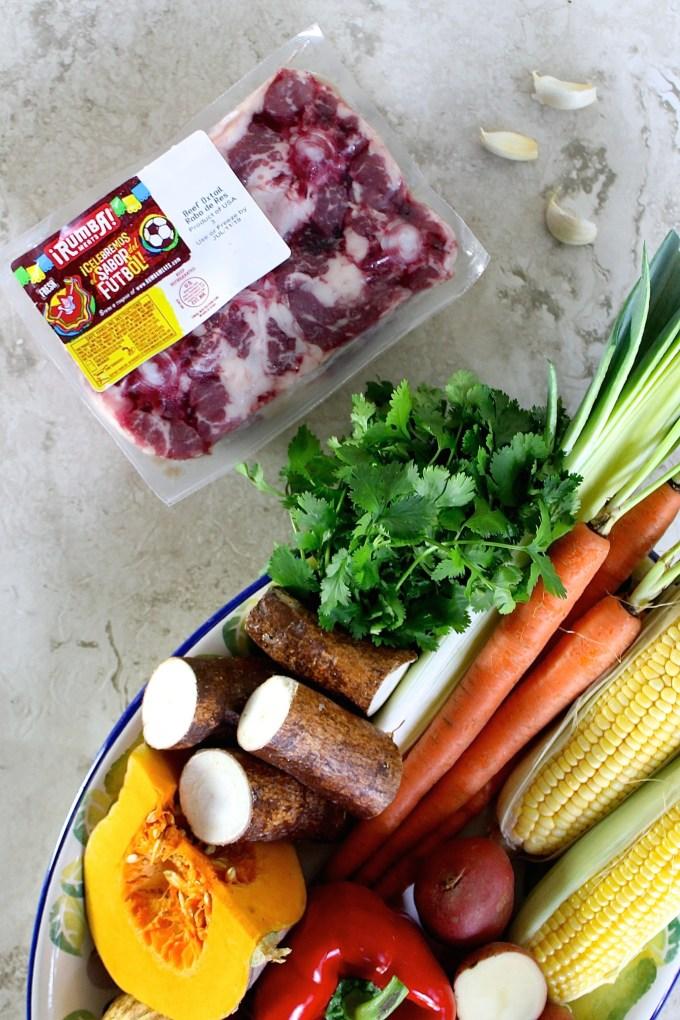 Ingredientes para hacer hervido de rabo by enrilemoine