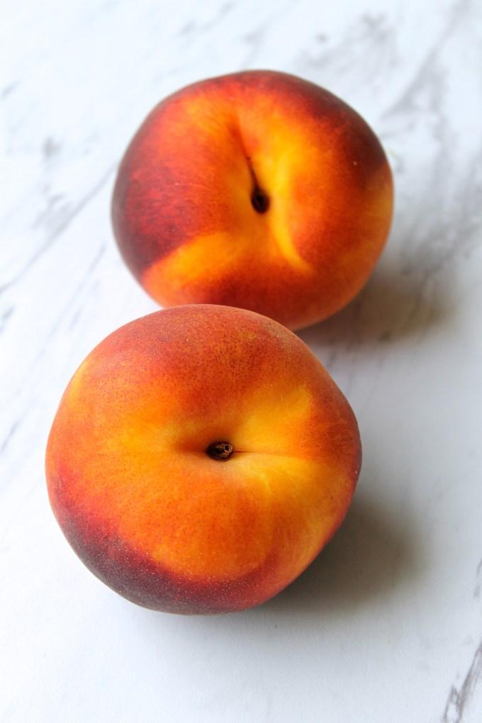 Nectarinas enteras