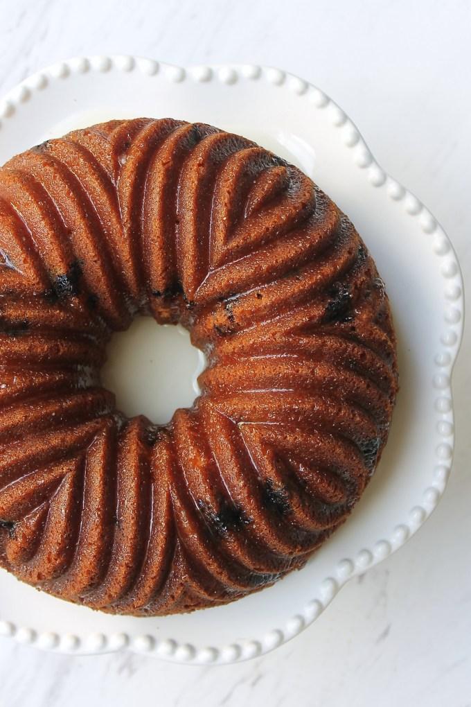 Lemon Blueberry Bundt Cake by enrilemoine