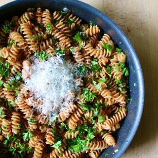 Anchovy-Capers Gluten-Free Pasta