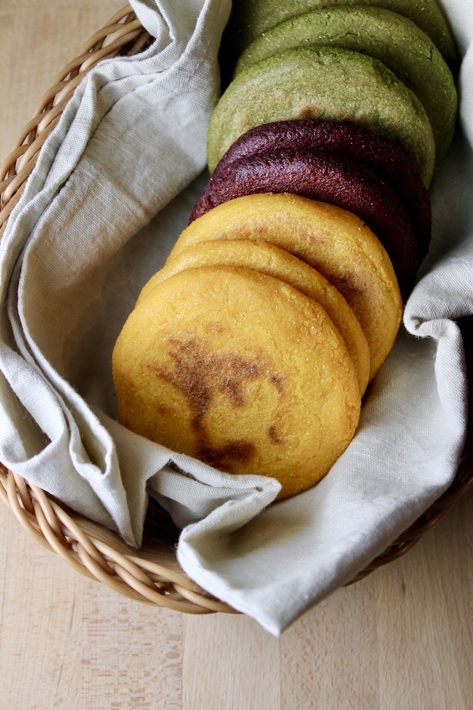 Arepas Multicolores De Vegetales Video Savoir Faire By Enrilemoine