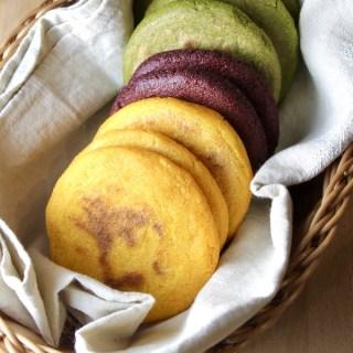 Veggie Colored Arepas Recipe + VIDEO
