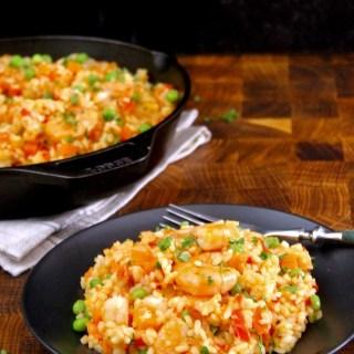 Rice with Shrimp Caracas-Style
