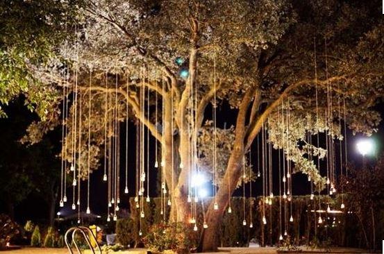 Iluminacin de Terrazas y Jardines para fiestas que
