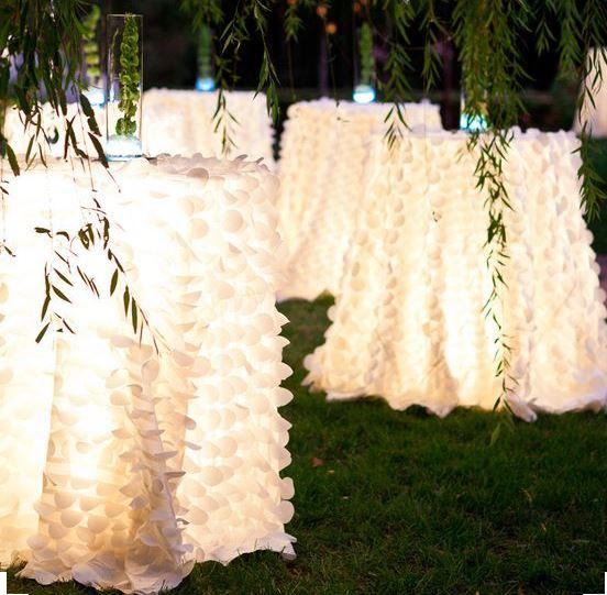 Iluminacin de Terrazas y Jardines para fiestas que Enamoran