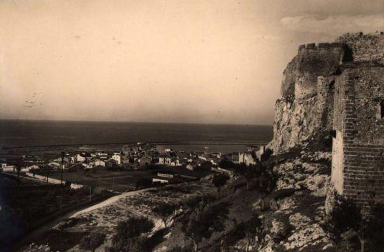 Vista del Puerto de Denia desde la cantera