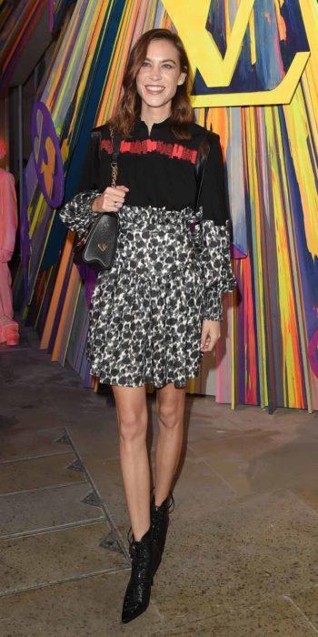 Presenter Alexa Chung at LouisVuitton Maison event in London23/10/2019