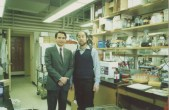 Enrique Osorio, Kenneth Kosik. Brigham and Women's Hospital lab. Havard University. Boston - USA 1988