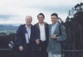 Yves Keravel, Enrique Osorio, Marc Sindou-- Bogotá 1988