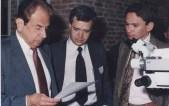 Salomón Hakim, Luis Carlos Cadavid, E. Osorio. Bogotá 1988
