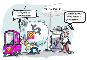 combustible petronic
