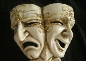 tragicomedia escultura