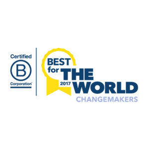 Enrollment Resources received the 2017 B Corp Best For The World Award: Changemakers